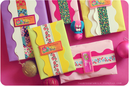 holiday packaging packages