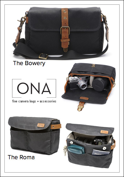 ONA Roma camera bag insert gift giveaway Paperie Birthday