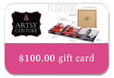 Artsy Couture giftcard contest