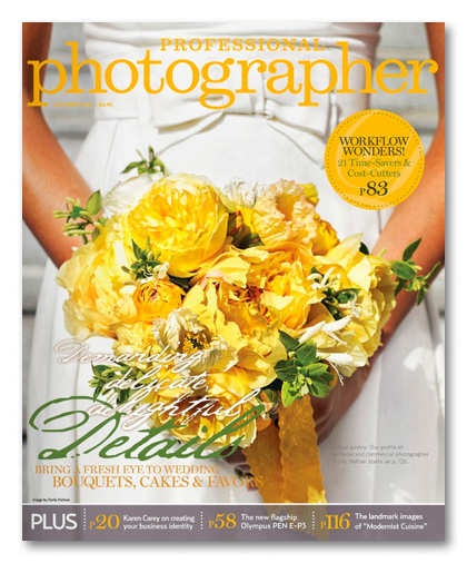 Professional Photographer Magazine October 2011 issue
