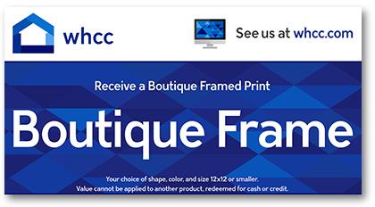 Boutique Frame WHCC