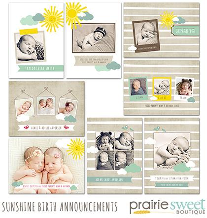 Prairie Sweet Sunshine Art Baby Line