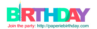 paperie 3rd birthday