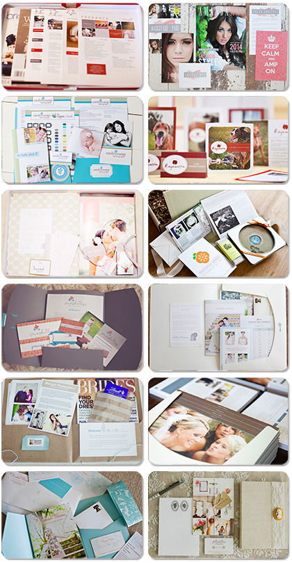 photography photographer welcome kit packet
