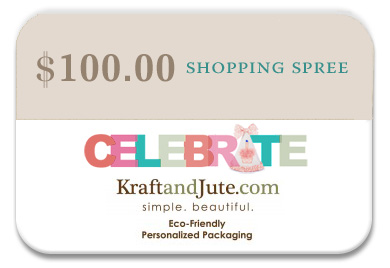Kraft and Jute giftcard prize contest