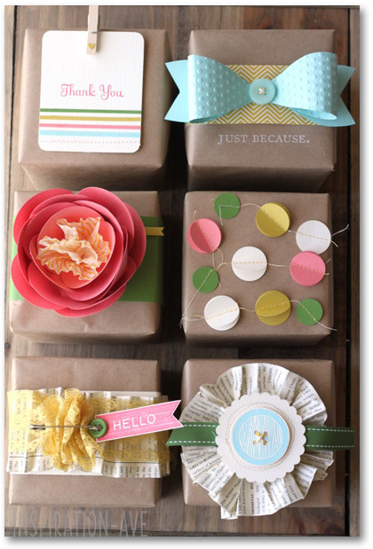 packaging giftwrap inspiration