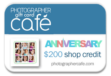 Photographer Cafe gift card