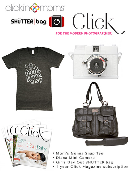 Click Magazine and Clickinmoms gift pack