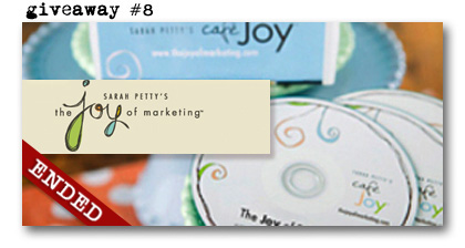 Sarah Petty Joy of Marketing Joycast