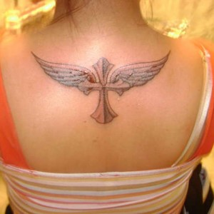 Cross Angel Tattoos for Women