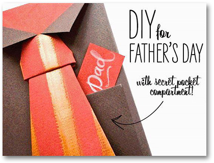 my paper crafting fathers day giftwrap