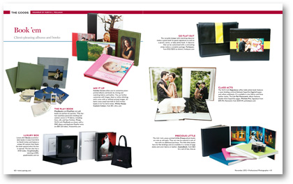 Professional Photographer Magazine November 2012 Paperie Boutique