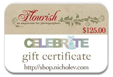 Nichole Van Flourish gift card