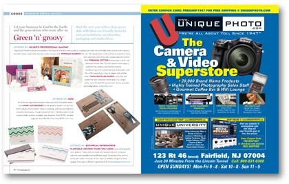 January 2012 Professional Photographer Magazine eco-friendly