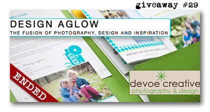Design Aglow giveaway Devoe Creative birthday Paperie Boutique