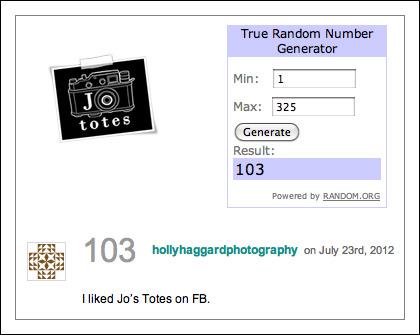 Jo Totes camera bag prize giveaway