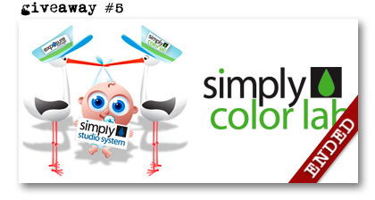 Simply Color Simply Studio prize giveaway