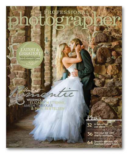 july 2011 Professional Photographer Magazine cover