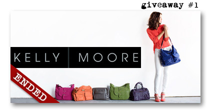 Kelly Moore Bag giveaway