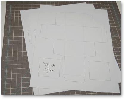 printed cardstock