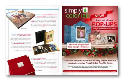 September 2011 Professional Photographer Magazine Goods column albums books