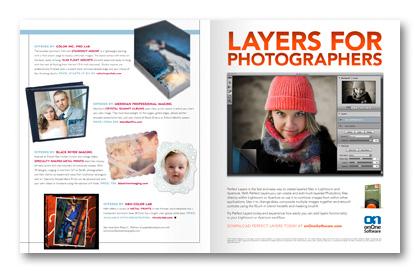 July 2011 Professional Photographer Magazine Goods column