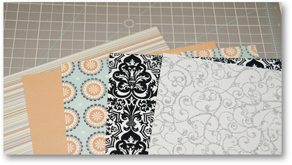 cardstock selection