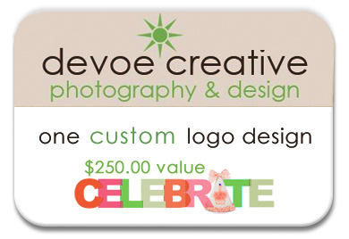 devoe creative gift card custom logo design