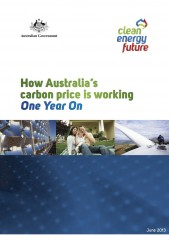 How Australia's carbon price is working – one year on