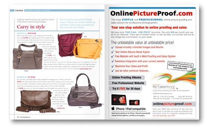Professional Photographer Magazine December 2011 issue