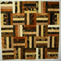 pieced backing quilt