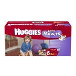 Huggies® Little Movers S6 Giant Pack