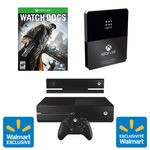 Xbox One Online Pre-Order Bundle with Watch Dogs (Wal-mart Exclusive) & Xbox Live 12 month Day One card