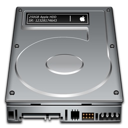 Mac-Hard-Disk-Logo