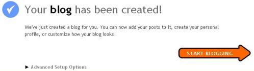 Cara Buat Akaun Blogspot
