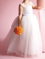 Organza Flower Girl Dresses - dressesshop.com