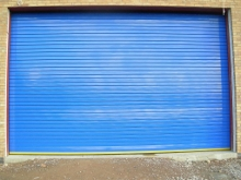 100mm insulated roller shutter