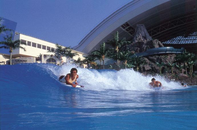 SeaGaia Ocean Dome  – Japan's Indoor Man Made Beach   DesignRulz.com