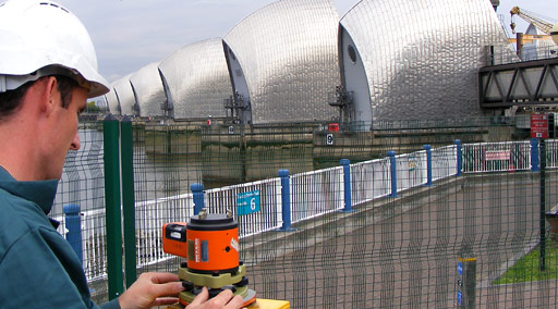 Thames Barrier monitoring and maintenance