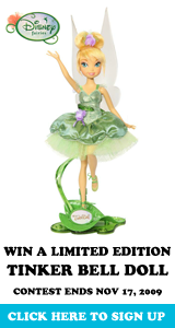 Win A Limited Edition Tinker Bell Doll