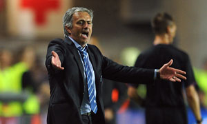 Chelsea's José Mourinho: my teams are victims of Uefa conspiracy