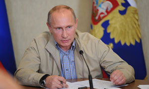 Syria: Putin rubbishes chemical attack claims