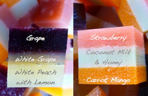 Homemade Fruit Snacks-flavor closeup