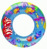 Плавательный круг детский Intex Прозрачный