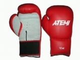 Перчатки боксерские Atemi PBG-432 красно-серый