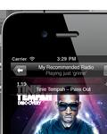 Last.fm for iPhone screenshot