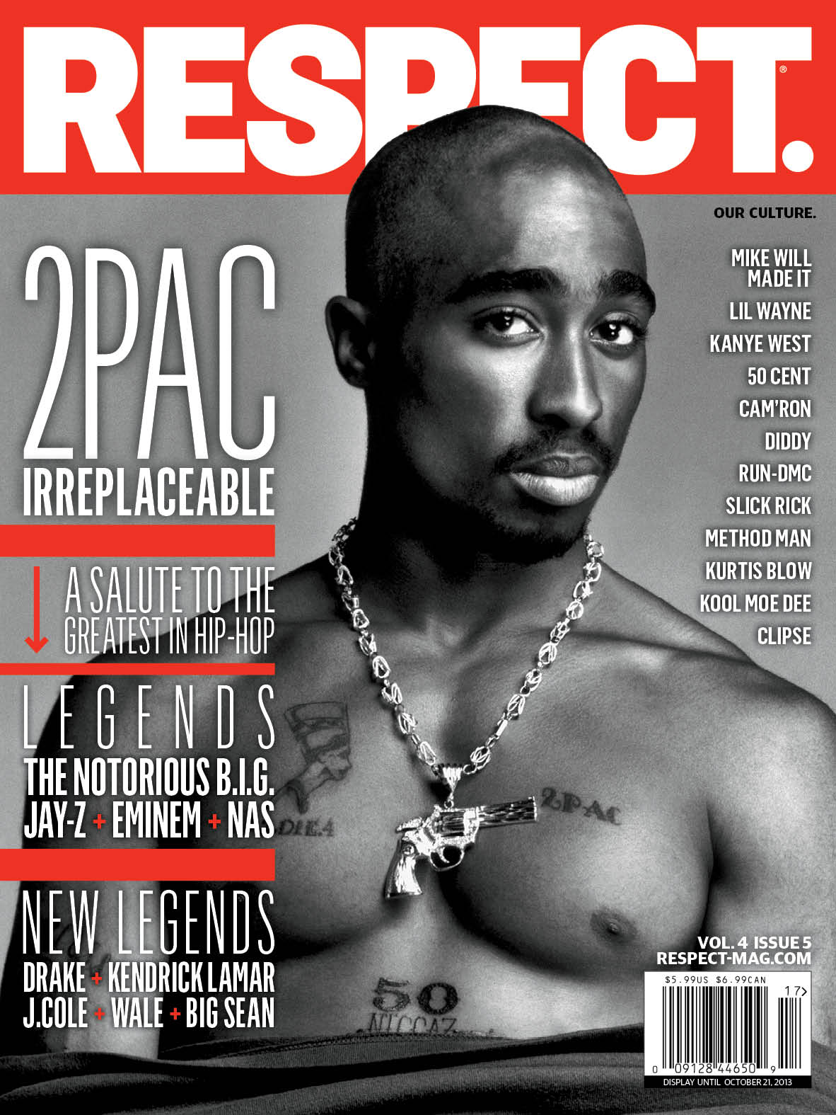 2Pac Covers<i>RESPECT.</i>