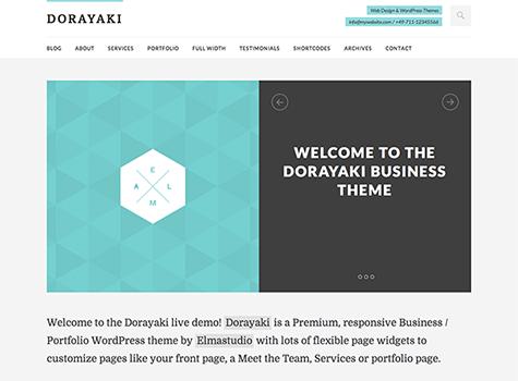 Dorayaki Premium WordPress Theme