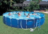 Бассейн каркасный Intex 54950 Metal Frame Pool 732х132 см