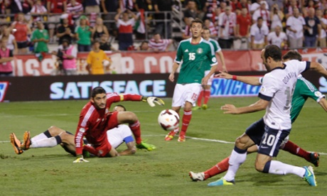 USA qualify for 2014 World Cup leaving Mexico in danger of missing out